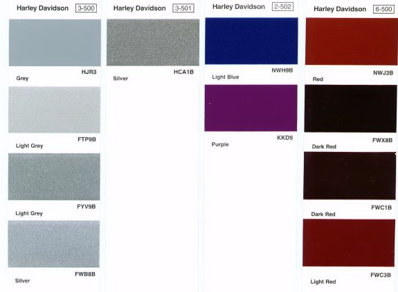 Ppg Motorcycle Paint Color Chart | newhairstylesformen2014.com